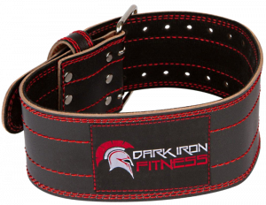 Dark Iron Fitness Pro Leather Belt