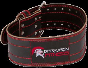 Dark Iron Fitness Pro Leather Belt