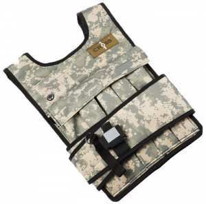 Cross101 Camouflage Weighted Vest