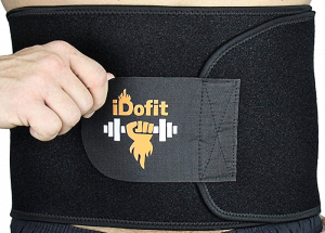 iDofit Adjustable Waist Trimmer Belt