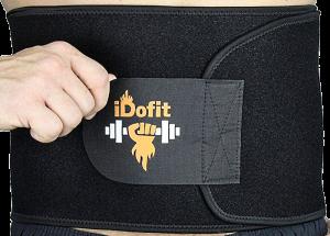iDofit Adjustable Waist Trimmer Belt