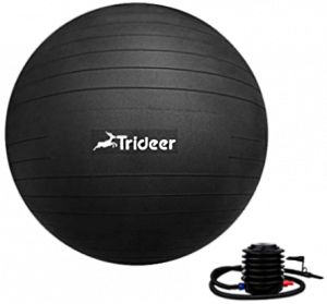 Trideer Exercise Ball Extra Thick Yoga Ball Chair